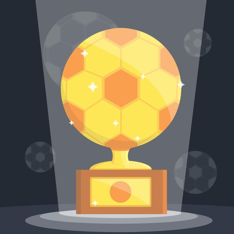 サッカートロフィー